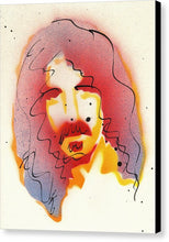Load image into Gallery viewer, Portrait Of Frank Zappa - Canvas Print