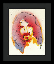 Load image into Gallery viewer, Portrait Of Frank Zappa - Framed Print