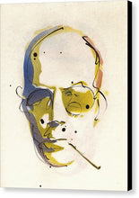 Load image into Gallery viewer, Portrait Of Hunter S. Thompson - Canvas Print