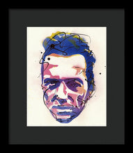 Load image into Gallery viewer, Portrait Of Joe Strummer - Framed Print