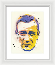 Load image into Gallery viewer, Portrait Of John Wayne - Framed Print