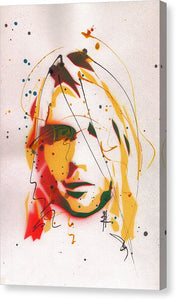 Portrait Of Kurt Cobain #2 - Canvas Print