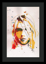 Load image into Gallery viewer, Portrait Of Kurt Cobain #2 - Framed Print