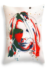 Load image into Gallery viewer, Portrait Of Kurt Cobain #3 - Throw Pillow