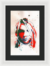 Load image into Gallery viewer, Portrait Of Kurt Cobain #3 - Framed Print