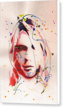 Load image into Gallery viewer, Portrait Of Kurt Cobain - Canvas Print