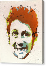 Load image into Gallery viewer, Portrait Of Shane Macgowan - Canvas Print by Ryan Hopkins