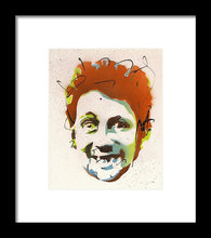 Load image into Gallery viewer, Portrait Of Shane Macgowan - Framed Print by Ryan Hopkins