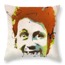 Load image into Gallery viewer, Portrait Of Shane Macgowan #2 - Throw Pillow