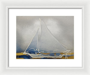 Skipjack I - Framed Print by Ryan Hopkins