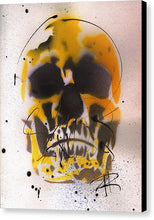 Load image into Gallery viewer, Skull IX - Canvas Print by Ryan Hopkins