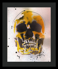 Load image into Gallery viewer, Skull IX - Framed Print by Ryan Hopkins