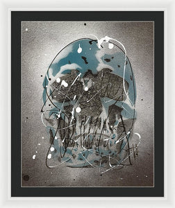 Skull I - Framed Print by Ryan Hopkins