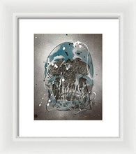 Load image into Gallery viewer, Skull I - Framed Print by Ryan Hopkins