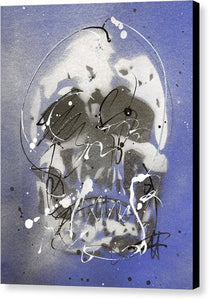 Skull VII - Canvas Print by Ryan Hopkins