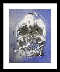 Skull VII - Framed Print by Ryan Hopkins