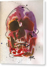 Load image into Gallery viewer, Skull X - Canvas Print by Ryan Hopkins
