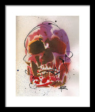 Load image into Gallery viewer, Skull X - Framed Print by Ryan Hopkins