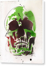 Load image into Gallery viewer, Skull XI - Canvas Print by Ryan Hopkins