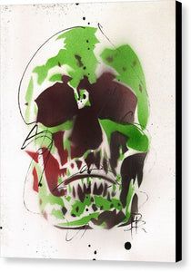 Skull XI - Canvas Print by Ryan Hopkins