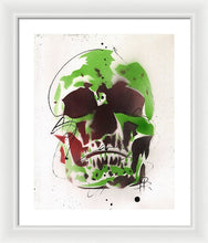 Load image into Gallery viewer, Skull XI - Framed Print by Ryan Hopkins