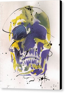 Skull XII - Canvas Print by Ryan Hopkins