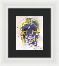 Load image into Gallery viewer, Skull XII - Framed Print by Ryan Hopkins