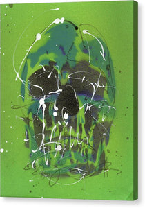 Skull V - Canvas Print by Ryan Hopkins