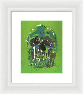Skull V - Framed Print by Ryan Hopkins