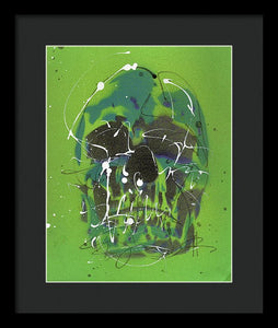The Skull Of St. Patrick - Framed Print by Ryan Hopkins