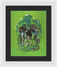 Load image into Gallery viewer, Skull V - Framed Print by Ryan Hopkins