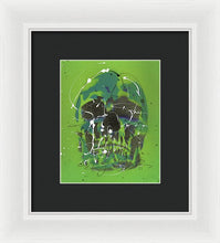 Load image into Gallery viewer, The Skull Of St. Patrick - Framed Print by Ryan Hopkins