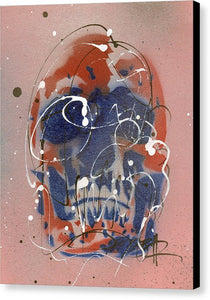Skull VI - Canvas Print by Ryan Hopkins