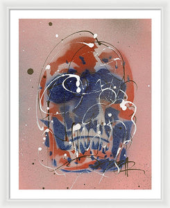 Skull VI - Framed Print by Ryan Hopkins