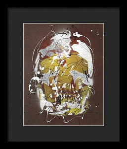 Skull VIII- Framed Print by Ryan Hopkins