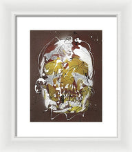 Load image into Gallery viewer, Skull VIII- Framed Print by Ryan Hopkins