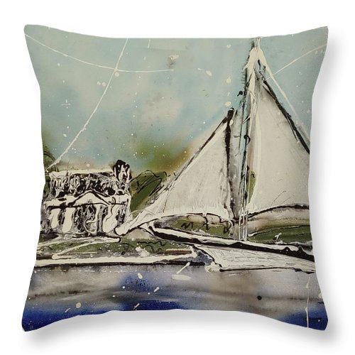 St Michaels I - Throw Pillow