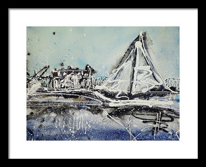St Michaels Storm - Framed Print