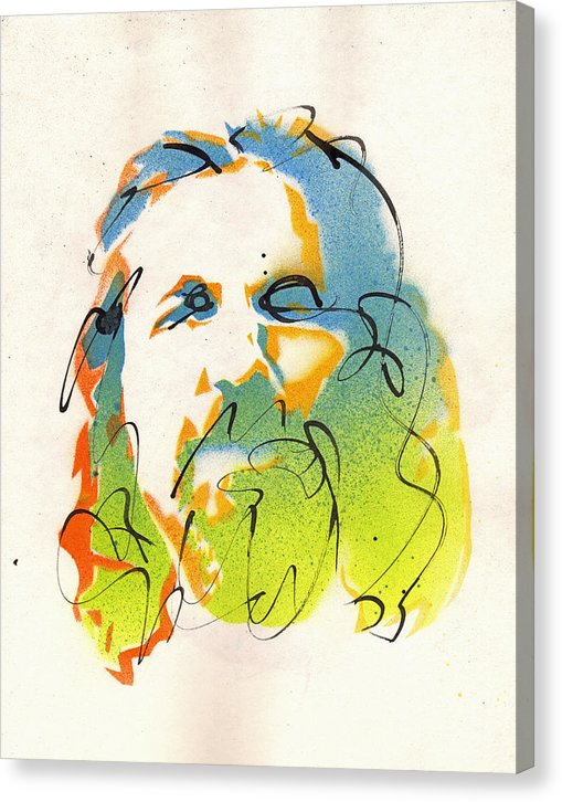 Portrait of The Dude - Canvas Print by Ryan Hopkins - The Big Lebowski