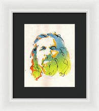 Load image into Gallery viewer, Portrait of The Dude - Framed Print by Ryan Hopkins - The Big Lebowski