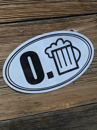 0.BEER Sticker!