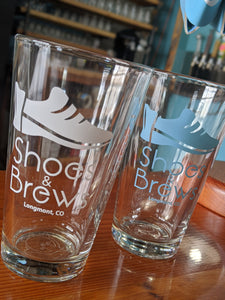 S&B Logo Pint Glass (pick up only)