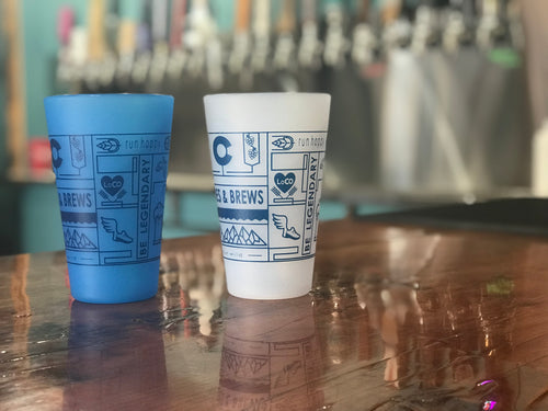 Custom Silipint PINT GLASSES