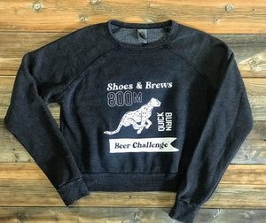 800M Beer Challenge Crop Sweatshirt