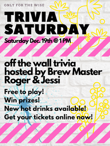 Outdoor Trivia - Saturday December 19th