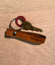 Load image into Gallery viewer, Run Wild. Drink Beer. Keychain