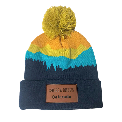Colorful Mountain S&B Beanie