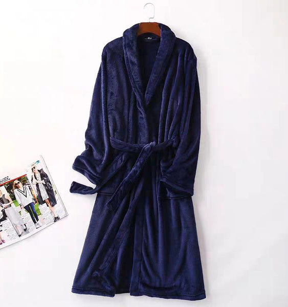Navy Blue Nochee Bathrobe