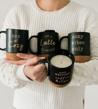 Load image into Gallery viewer, Candle Mug Collection | Cup of Cozy | Custom Mug Soy Candle