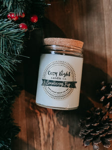 CRANBERRY FIG Soy Candle